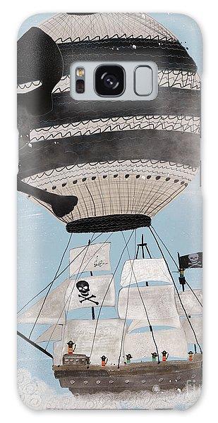 Skull Galaxy Case - Sky Pirates by Bri Buckley