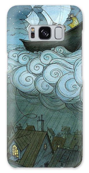 Galaxy Case - Sky Sailing by Eliza Wheeler
