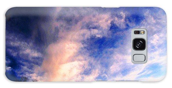 Sky Study 5 3/11/16 Galaxy Case by Melissa Stoudt