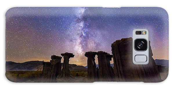 Galaxy Case featuring the photograph Sky Watchers by Tassanee Angiolillo