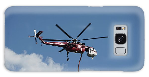 Skycrane Works The Red Canyon Fire Galaxy Case by Bill Gabbert