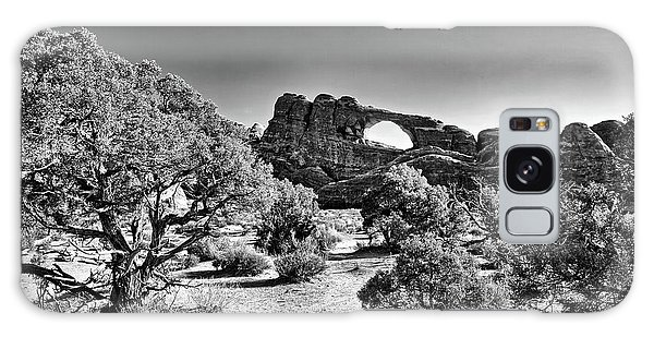 Skyline Arch In Arches National Park Galaxy Case
