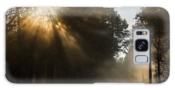 Skyline Drive Fall Color Galaxy Case