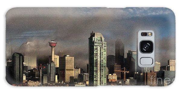 Skyline Fog Galaxy Case by Brad Allen Fine Art