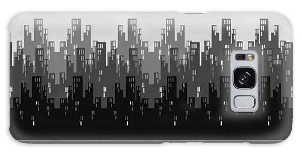Skyline New York Galaxy Case by Digital Art Cafe