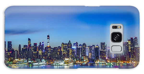 Skyline Nyc Before Sunrise Galaxy Case