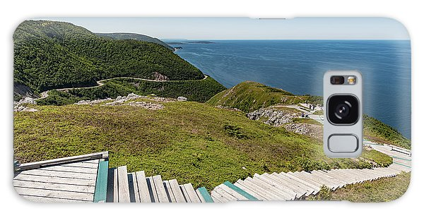 Cabot Trail Galaxy Case - Skyline Trail by Zawhaus Photography