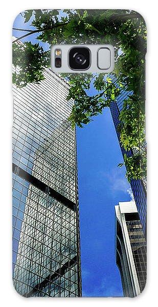 Skyscraper Spring Galaxy Case