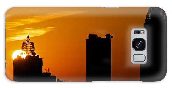 Skyscraper Sunset Galaxy Case