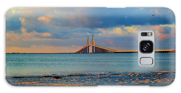 Skyway Bridge Galaxy Case