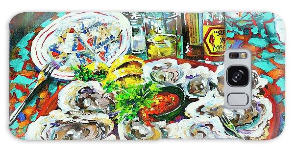 Slap Dem Oysters  Galaxy Case
