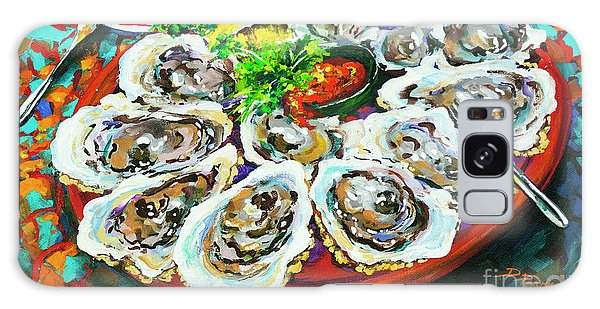 Slap Dem Oysters  Galaxy Case by Dianne Parks