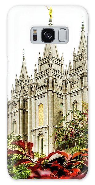 Temple Galaxy Case - Slc Temple Angle by La Rae  Roberts
