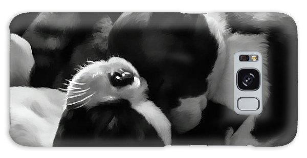 Sleeping Beauties - Boston Terriers Galaxy Case by Jordan Blackstone