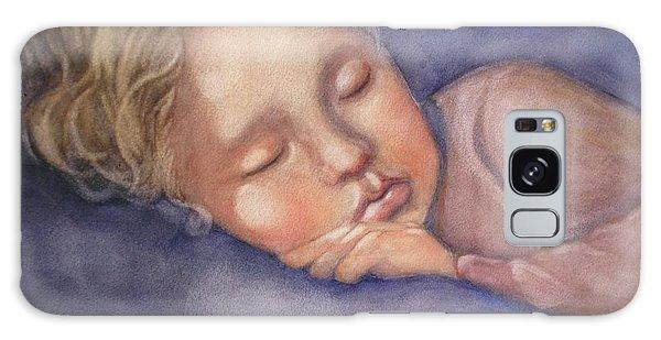 Sleeping Beauty Galaxy Case by Marilyn Jacobson