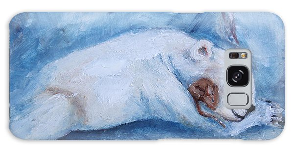 Sleeping Buddies Aceo Baby Polar Bear And Mouse Galaxy Case