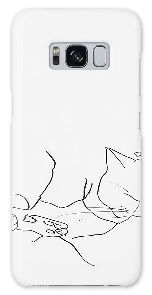 Sleeping Cat II Galaxy Case