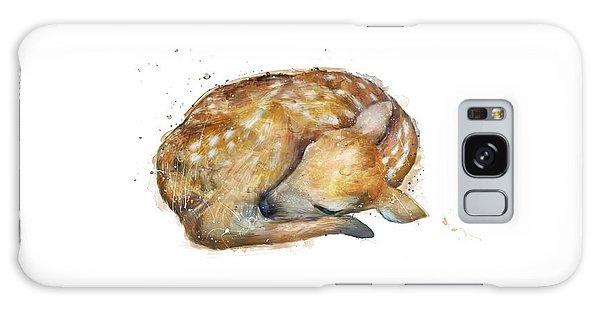 Deer Galaxy Case - Sleeping Fawn by Amy Hamilton