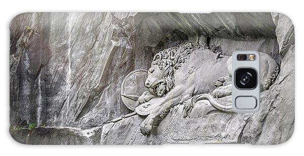 Sleeping Lion Of Lucerne  Galaxy Case