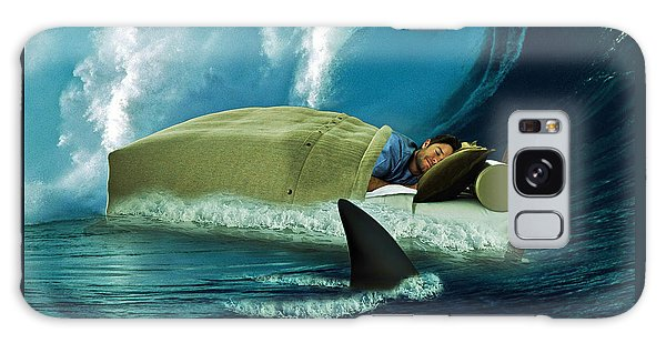 Surreal Digital Art Galaxy Case - Sleeping With Sharks by Marian Voicu