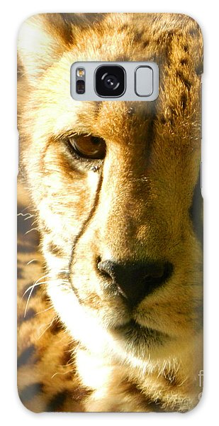 Sleepy Cheetah Cub Galaxy Case