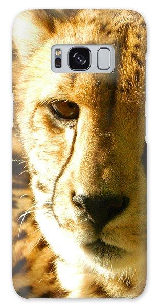 Sleepy Cheetah Cub Galaxy Case