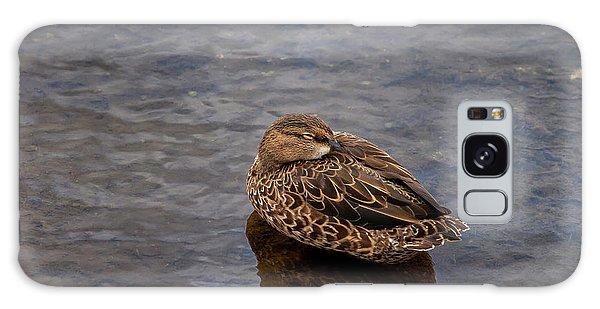 Sleepy Duck Galaxy Case
