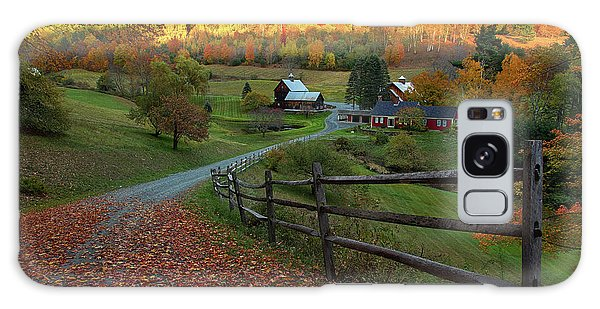 Sleepy Hollow Farm- Pomfret Vt Galaxy Case