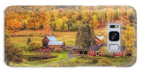 Sleepy Hollow - Pomfret Vermont In Autumn Galaxy Case
