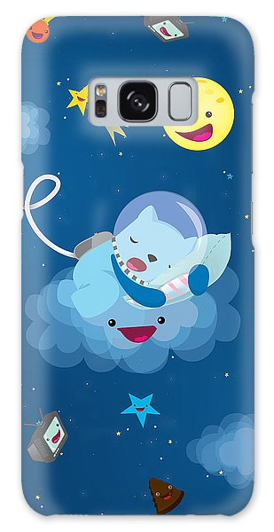 Sleepy In Space Galaxy Case
