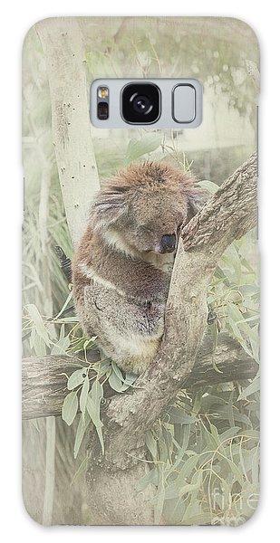 Sleepy Koala Galaxy Case