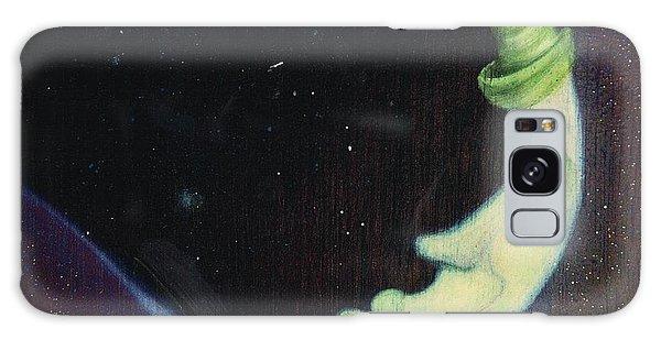 Sleepy Moon's Twin Brother Galaxy Case
