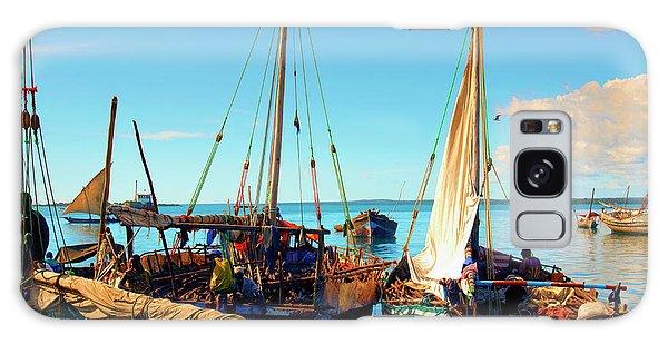 Sleepy Sail Boats Zanzibar Galaxy Case