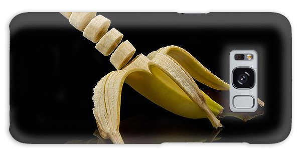 Sliced Banana Galaxy Case by Gert Lavsen
