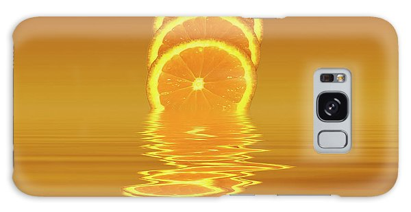 Slices Orange Citrus Fruit Galaxy Case