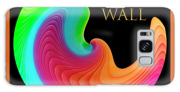 Galaxy Case featuring the photograph Slinky Dove Of Peace-the Gallery Wall Logo by Wendy Wilton