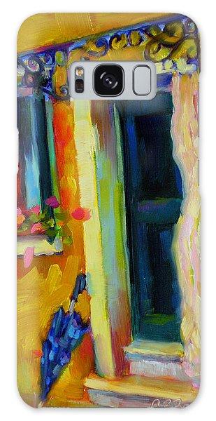 Sliver Of Sunshine Galaxy Case by Chris Brandley