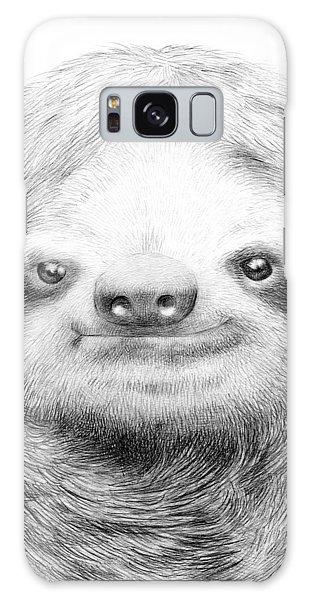 Funny Galaxy Case - Sloth by Eric Fan