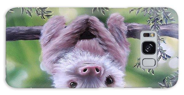 Sloth'n 'around Galaxy Case