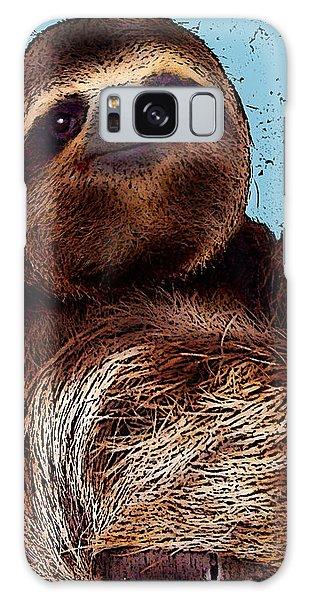Sloth Pop Art Galaxy Case