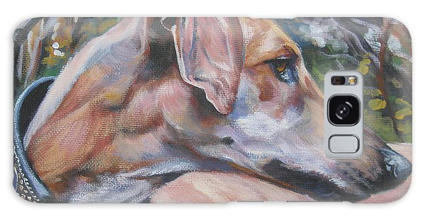 Sighthound Galaxy Case - Sloughi by Lee Ann Shepard