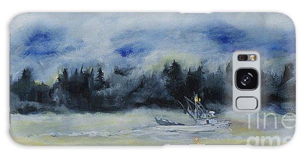 Slow Sail Home Galaxy Case by Cynthia Lagoudakis
