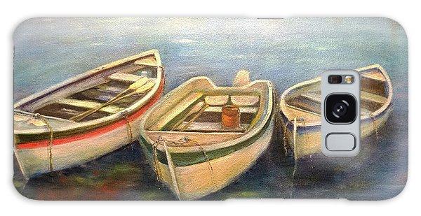 Small Boats Galaxy Case