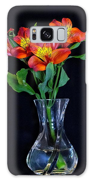 Small Bouquet Of Flowers Galaxy Case