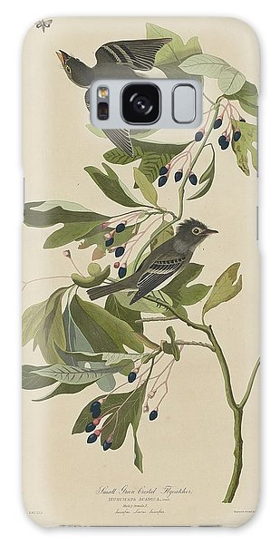 Flycatcher Galaxy Case - Small Green-crested Flycatcher by Dreyer Wildlife Print Collections