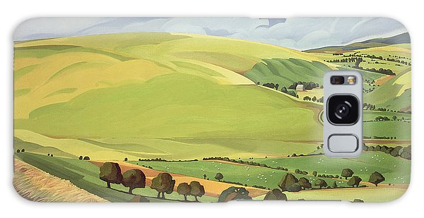 Field Galaxy Case - Small Green Valley by Anna Teasdale
