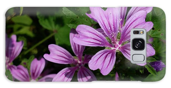 Small Mauve Flowers 6 Galaxy Case