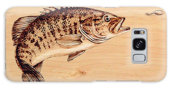 Small Mouth Bass Galaxy Case by Ron Haist