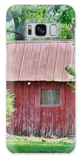 Small Red Barn - Lewes Delaware Galaxy Case