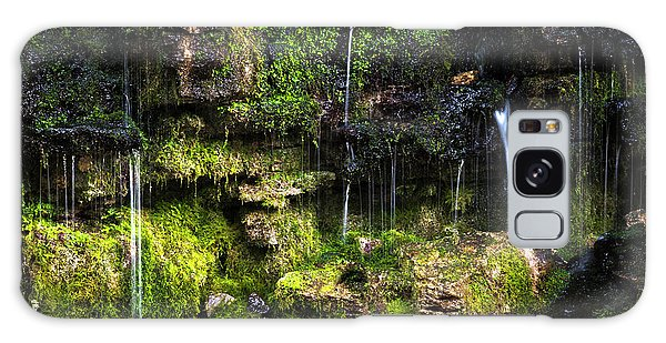 Galaxy Case featuring the photograph Small Waterfall by Elena Elisseeva